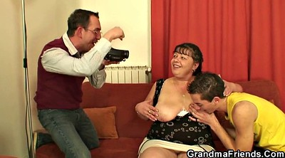Mature, Young, Chubby threesome, Granny boy, Young gay boy, Old young threesome