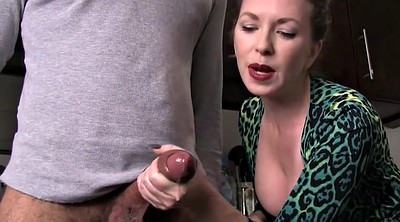 Mom handjob, Milf mom