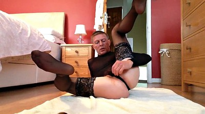 Nylons, Flashing cock, Cross dress