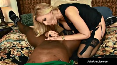 Julia ann, Ann, Cum in, Blonde blacked