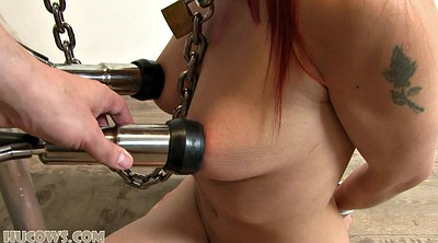 Machine, Strangle, Tit torture, Tits torture, Strangled
