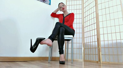 German foot, Foot femdom, Dirty talk, Mistress t