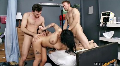 Hospital, Asian orgy, Two girl