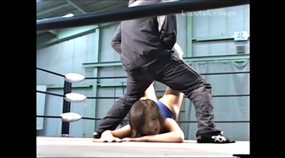 Japanese bdsm, Wrestling, Mixed wrestling