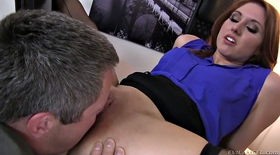 Facesitting, Red, Ass job, Office boss, Office lady