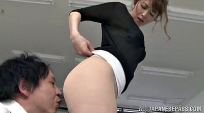 Pantyhose, Japanese office, Japanese pantyhose, Lick pussy, Japanese beauty, Japanese pussy lick