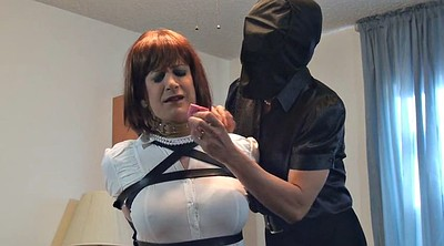 Mask, Sandra, Crossdressers, Crossdresser bondage