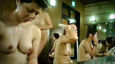 Japanese group, Japanese shower, Japanese voyeur