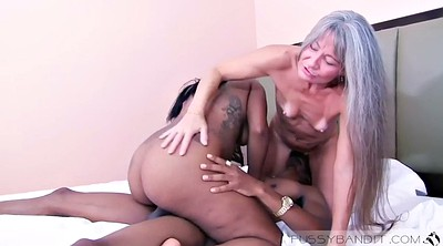 Asian black, Asian granny, Asian mature, Black pussy