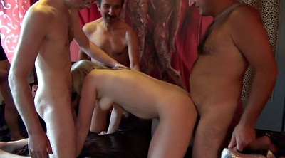Turkish, Wife gangbang, Greek, Gangbang wife