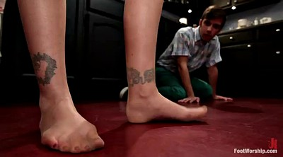 Worship, Milf foot, Foot domination