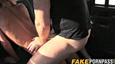 Fake taxi, Big boobs, Taxi, In car