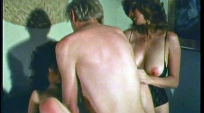 Hairy anal, Vintage threesome