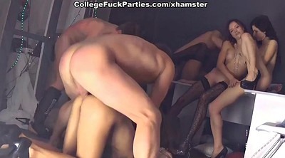 Party, Russian college, College, Anal party, College student, Student anal