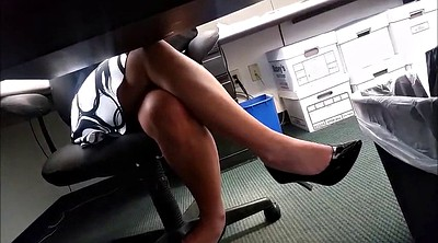 Upskirt, Leggings, Long, Secretary