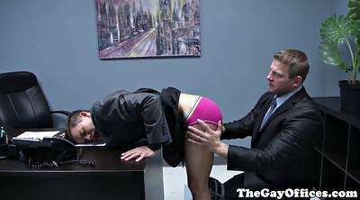 Spank, Spanked, Gay spank, Office sex