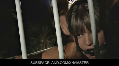 Tied, Bdsm outdoor, Young anal, Spanked and fucked
