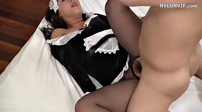 Maid, Hard, Japanese pussy, Beautiful japanese
