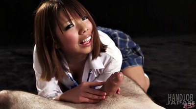 Cute, Jerk off, Grab, Asian schoolgirl, Schoolgirl masturbation, Cute asian