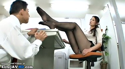 Japanese massage, Pantyhose foot, Japanese mature, Pantyhose fetish, Japanese milf, Secretary