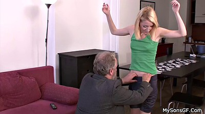 Punish, Teen daughter, Father daughter, Father in law