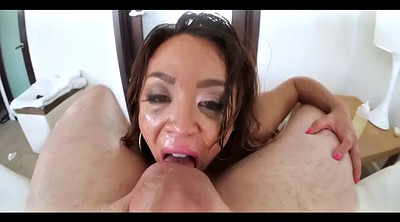 Sloppy deepthroat, Sloppy gagging, Asian milf, Sloppy gag