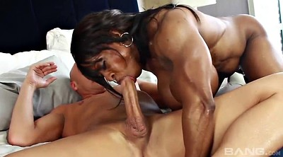 Big penis, Ebony blowjob