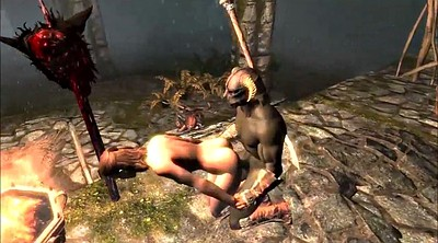 Cartoon, Slavegirl, Skyrim