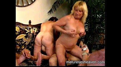 Part, Mature orgy, Granny group
