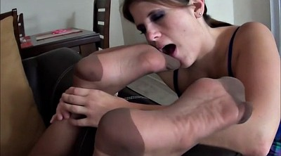 Smell, Smell foot, Pantyhose lesbian, Footing, Lesbian pantyhose