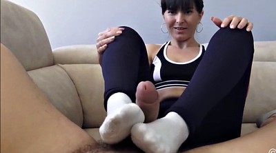 Socks, Sock, Foot job, Sock job, Feet job, White socks