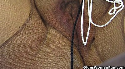 Nylon, Black granny, Ebony granny, Mature nylon
