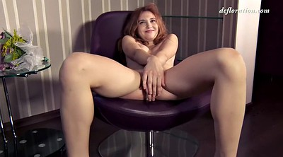 Teen first time, Hairy solo, Closeup, Virgin first time