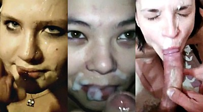 Amateur facial compilation