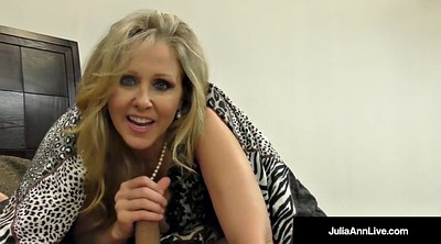 Julia ann, Julia, Foot fetish, Suck foot