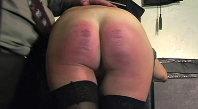 Spanked, Caning, Granny teacher