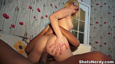 Blonde teen interracial, Man