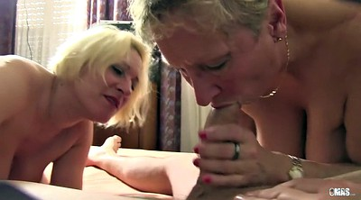 German mature, Granny orgy, Granny group, Eating pussy