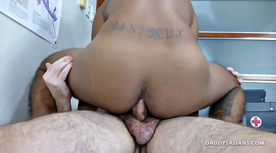 Asian anal, Old, Daddy, Dad, Young dildo