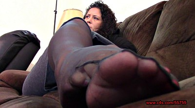Nylon foot, Pantyhose feet, Bbw foot