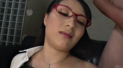 Japanese office, Japanese handjob