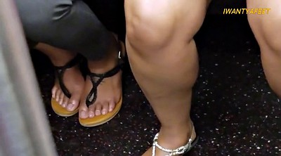 Foot fetish, Candid feet