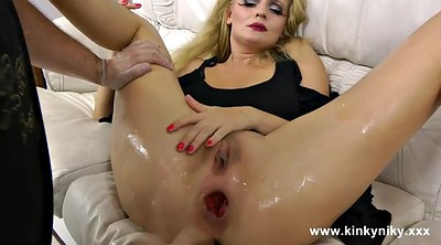 Brutal, Prolapse, Prolapse anal, Fisting anal, Brutal anal, Anal blonde