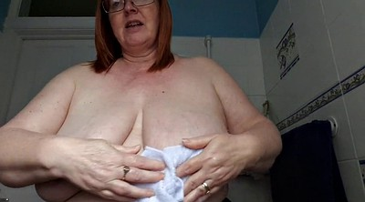 Mature bbw, Breast, British bbw, Big breast