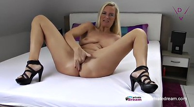 Mature solo, German mom, Mom masturbates, Squirting mature, Milf squirting, Mature mom