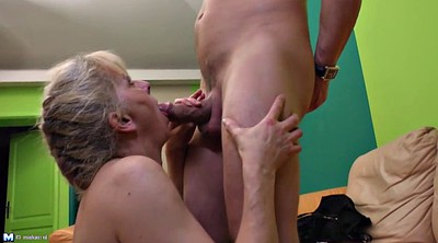 Son fuck mom, Hairy young