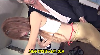 Asian anal, Young fuck, Asian office