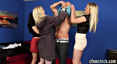 Clothed sex, Group handjob
