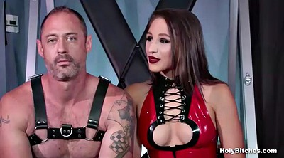 Latex, Leather, First anal, Latex mistress, First time anal