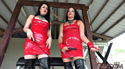 Latex, Red milf, Hot mature